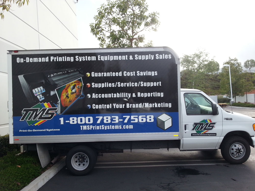 4c9a2fad0a Wrap Works installed the graphics on this box truck. The wrap turned an  ordinary box
