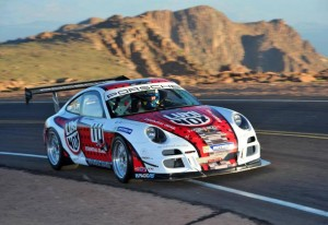 Wrapped Porsche GT3 at Pikes Peak