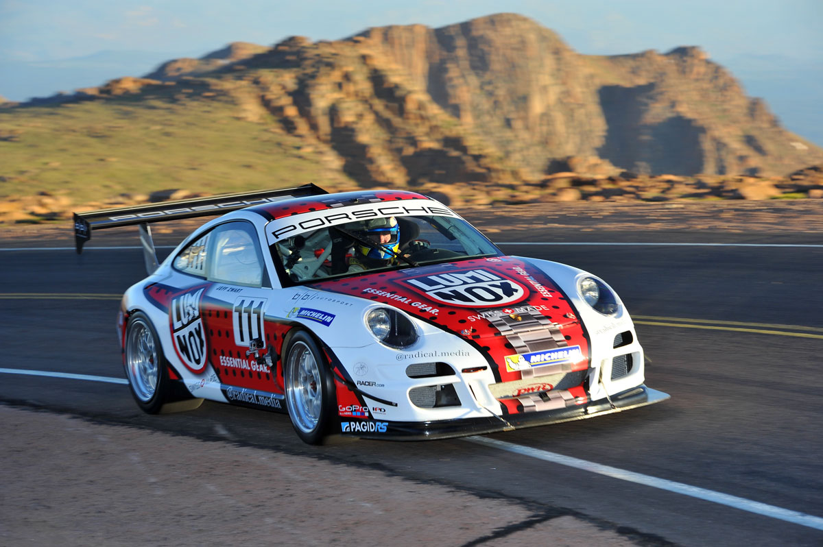 Graphic Wrap Porsche GT3 Turbo