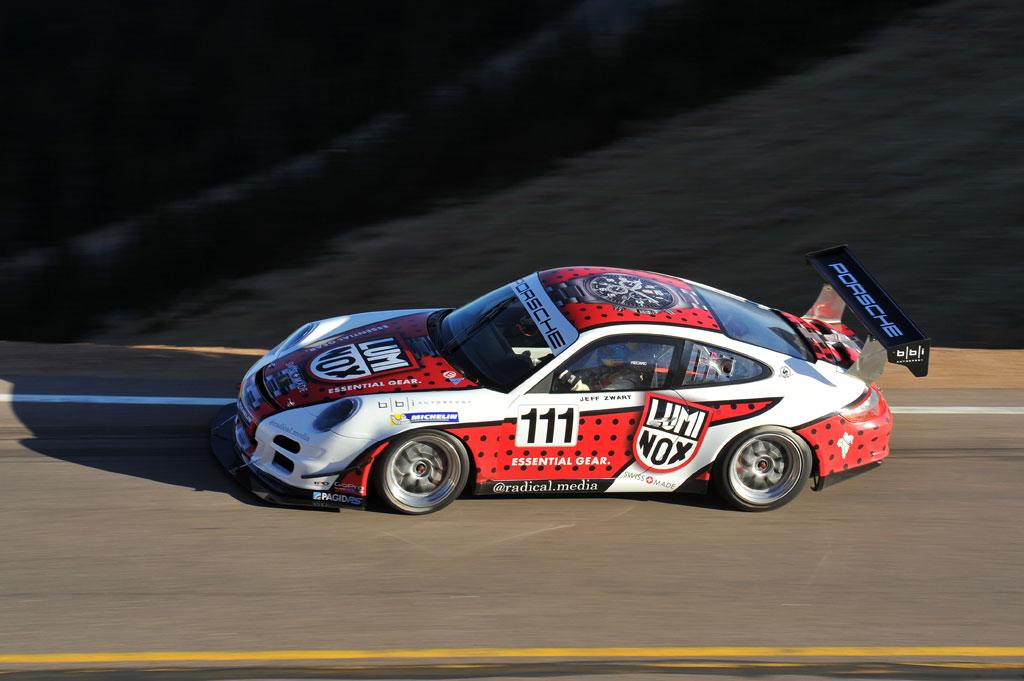2013-Pikes-Peak-Jeff-Zwart-Porsche-911-GT3-Cup-Overhead1