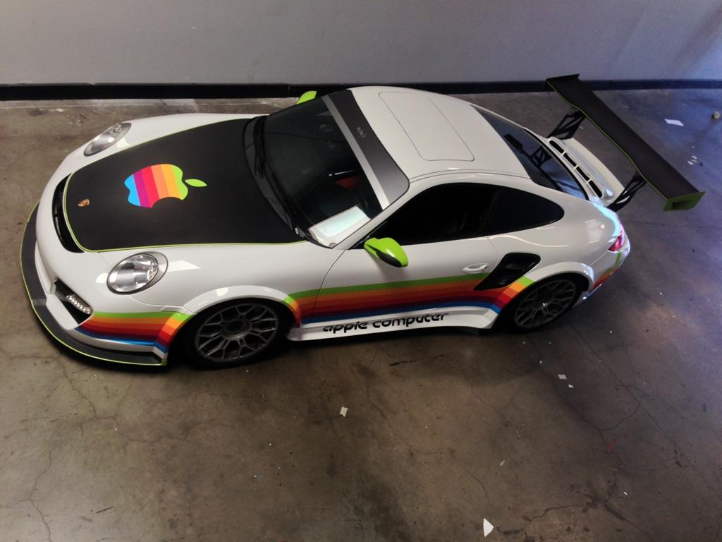 Project Grip Apple Car Wrap