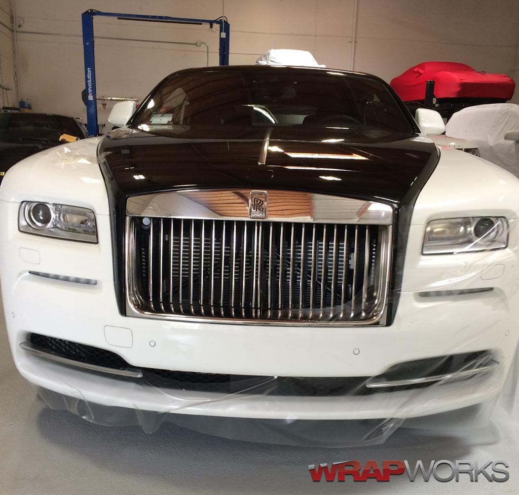Rolls Royce Wraith Clear Bra Installation