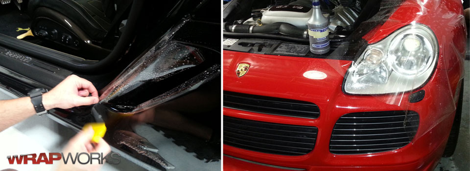 Clear Bra Paint Protection Film