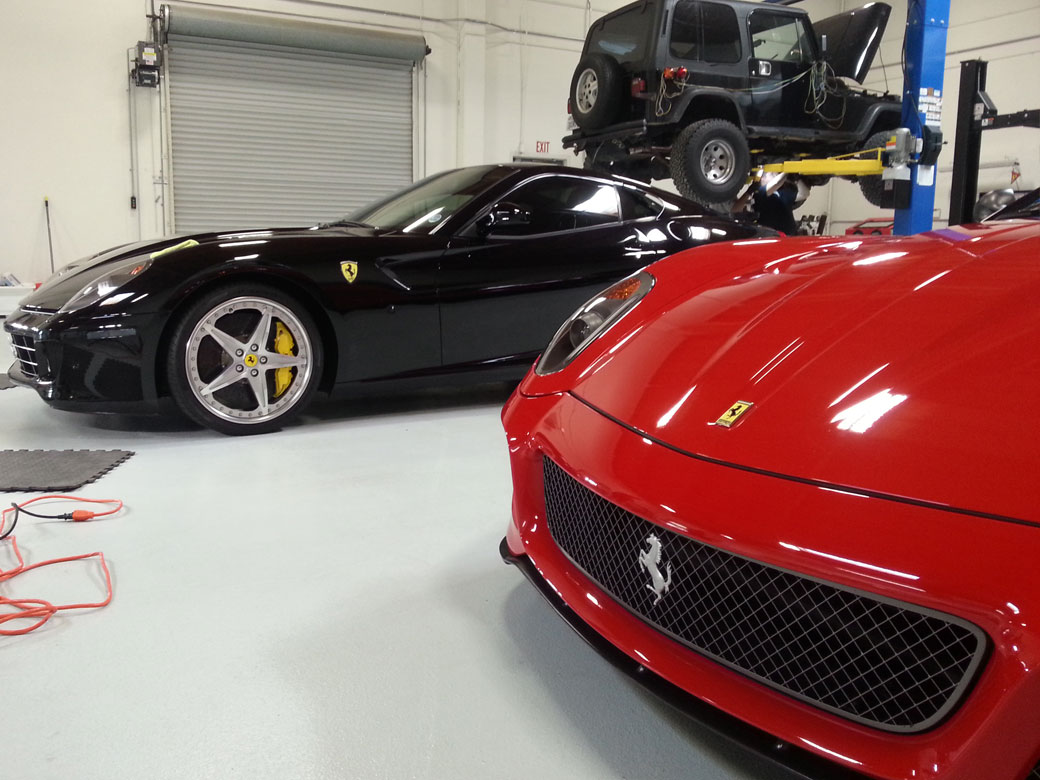 Ferrari 599 GTO and 599 GTB Clear Bra Installation