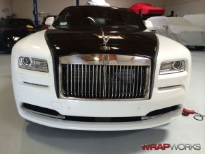 Rolls Royce Wraith Paint Protection Installation Completed